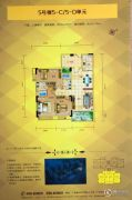 霭霖花园3室2厅2卫132平方米户型图