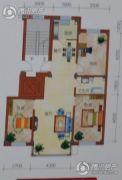 恒利新城3室2厅1卫0平方米户型图