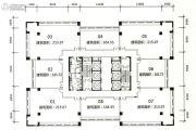 旺南世贸中心8室1厅1卫215平方米户型图