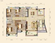 南山壹号4室2厅2卫130--131平方米户型图