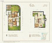 九洲绿城・翠湖香山3室2厅2卫122平方米户型图
