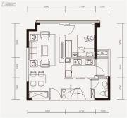 嘉年华青年城smart公寓4室2厅2卫60平方米户型图