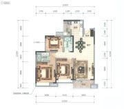 顺德华侨城・天鹅湖3室2厅2卫113平方米户型图
