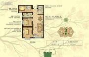 淳茂公园城3室2厅1卫94平方米户型图