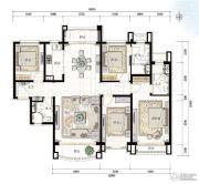 青岛星河湾4室2厅0卫192平方米户型图