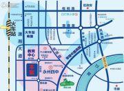 潇湘蓝岸交通图