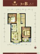 水上人家(翠堤・御墅)2室1厅1卫81平方米户型图