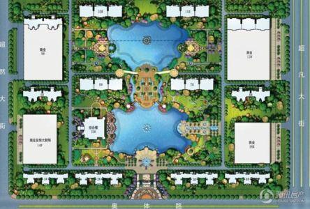 恒大绿洲规划图