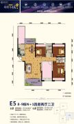 锦绣东城商业广场4室2厅2卫134--136平方米户型图