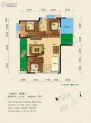 燕泉华府3室2厅2卫114平方米户型图