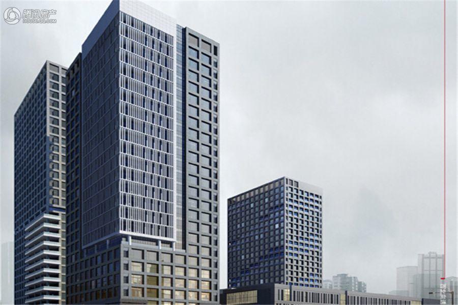 成都市环保产业大厦效果图