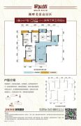 家和城3室2厅2卫116平方米户型图