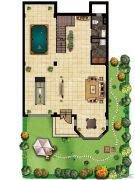 美岸栖庭 别墅1室1厅1卫0平方米户型图