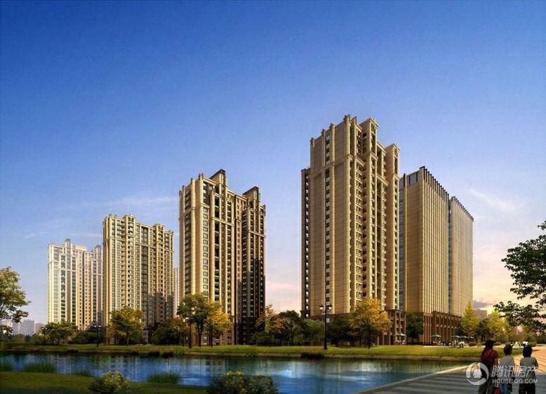 信泰龙跃国际 沿九龙河透视图