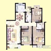 虹桥1号3室2厅2卫0平方米户型图