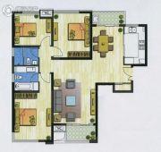 新加坡尚锦城3室2厅2卫136平方米户型图