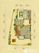 五矿龙湾别墅4室2厅3卫238平方米户型图