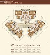 尚东名苑95--115平方米户型图