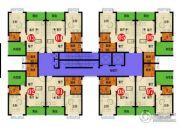 四季康城四期水岸城邦1室2厅1卫45平方米户型图