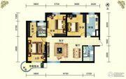 云祥花苑3室2厅1卫143平方米户型图