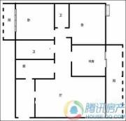 瑞升望江橡树林3室2厅2卫136平方米户型图