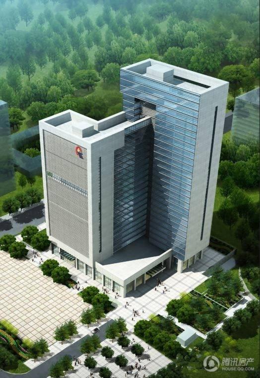 黔桂国际商务中心效果图
