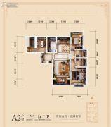 唐顿庄园3室2厅2卫123平方米户型图