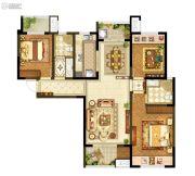 升龙又一城2室2厅2卫0平方米户型图