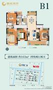 南通国城�Z府4室2厅2卫163平方米户型图