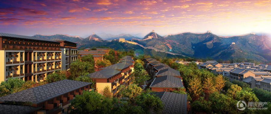 龙湖长城源著效果图