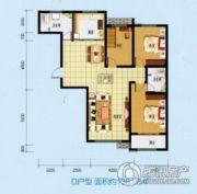 乾盛・慧泽园3室2厅2卫138平方米户型图
