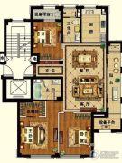 长峙岛・香芸园3室2厅2卫141平方米户型图