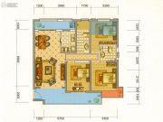 中铁・水岸青城2室2厅2卫120平方米户型图