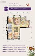 群升江山城4室2厅2卫116平方米户型图