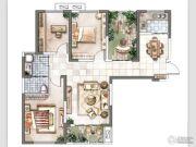 三和里4室2厅2卫126平方米户型图