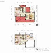 保利凤凰湾3室2厅3卫0平方米户型图