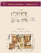 蔡家中央大街2室2厅2卫0平方米户型图