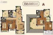 中建・柒号院4室2厅3卫164平方米户型图