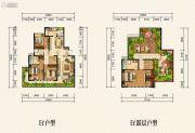 金龙星岛国际4室2厅3卫0平方米户型图