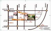 万泰国际花园 小高层交通图