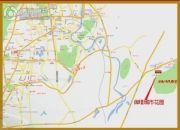 御�Z城市花园交通图