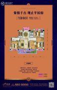碧桂园・平侯府3室2厅2卫118--119平方米户型图