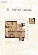 融创白象街3室2厅2卫117--148平方米户型图
