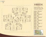 佛奥凯茵苑3室2厅2卫88--104平方米户型图