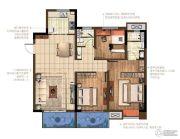 中交锦致3室2厅2卫119平方米户型图