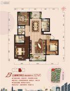 荣盛・锦绣外滩3室2厅2卫0平方米户型图