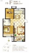 燕熙・花园小镇2室2厅1卫0平方米户型图