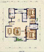 保艾尔云麓3室2厅2卫255平方米户型图