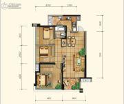 永立星城都3室2厅1卫94平方米户型图
