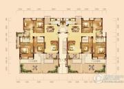 泰然南湖玫瑰湾4室2厅2卫150平方米户型图